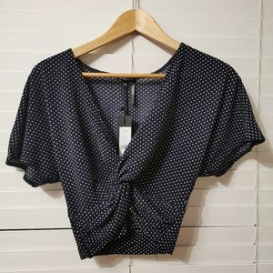 NWT! Dynamite Knot Top